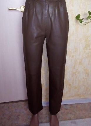 Красивые брюки из натуральной кожи/брюки/штаны/джинсы/кожаные брюки