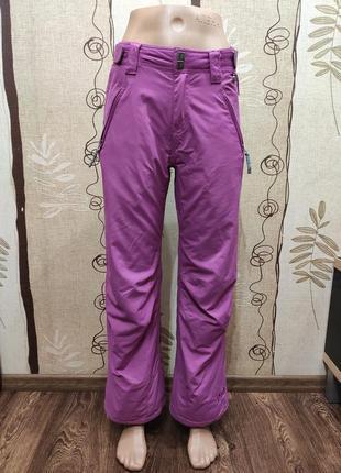 Protest зимние мембранные лыжные штаны цвета фуксии