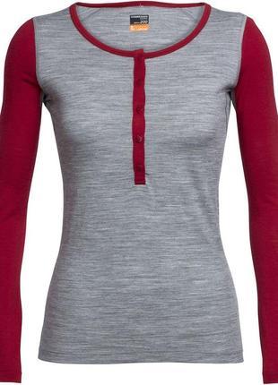 Женская термокофта icebreaker bodyfit (m)