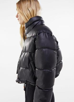 Куртка кожа bershka