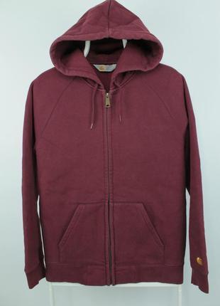 Оригинальная толстовка carhartt wip hooded chase jacket hoodie zip