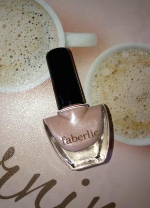 Лак для ногтей cc 9 в 1 «умный цвет», тон «ванильное небо» faberlic 7356 фаберлик