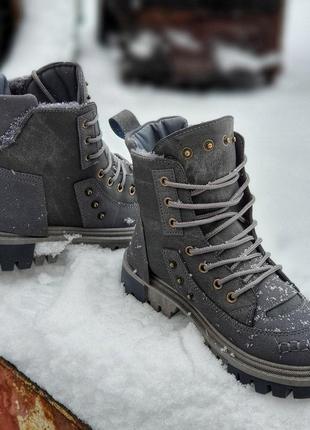 Модные зимние ботинки (335919)