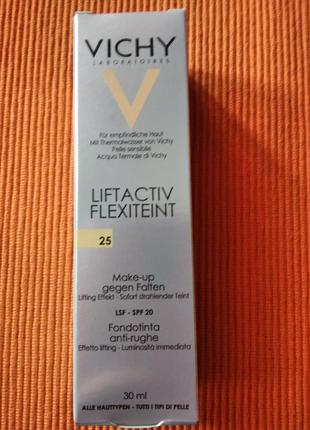 Vichy liftactiv flexiteint  - оттенок 25 nude