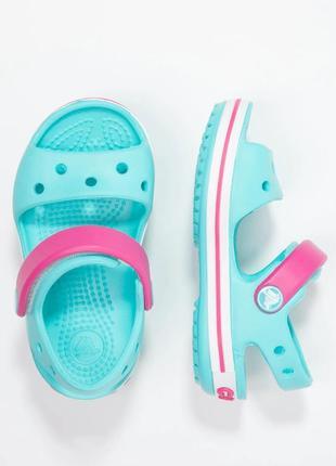 Детские сандалии crocs kids' bayaband sandal