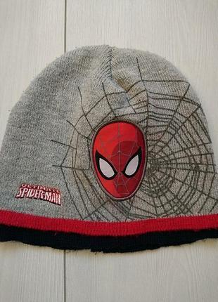 Шапка spiderman marvel