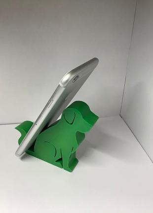 Подставка, держатель собачка под телефон, планшет