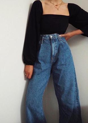 Новые оригинальные джинсы aviatic 704 на высокой посадке момы mom