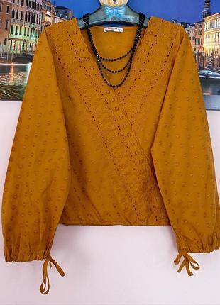 Блуза решелье