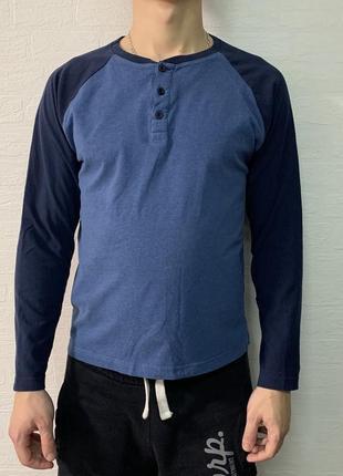 Мужская кофта (пуловер) с пуговицами ostin