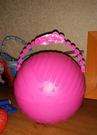 Контейнер в форме шара
