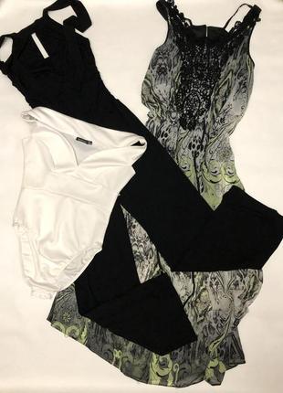 Лот речей / лот вещей размер 12 платье комбез боди