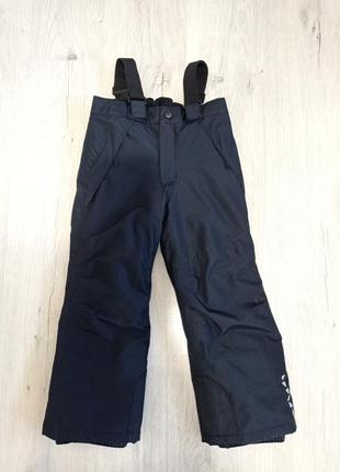 Зимний полукомбинезон, лыжные штаны, термо штаны crivit (германия).
