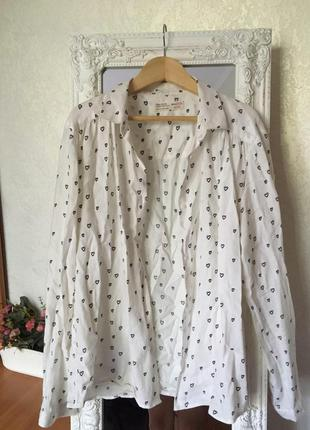 ♥школьная белая рубашка♥