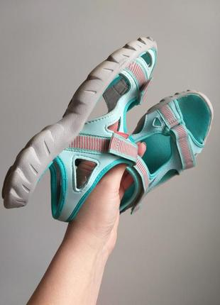 Спортивные сандалии. босоножки спорт. мятные, бирюзовые, коралловые.