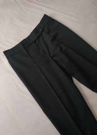 Укороченные зауженые штаны / классические офисные брюки / средняя посадка