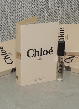 Chloe eau de parfum пробник для женщин оригинал