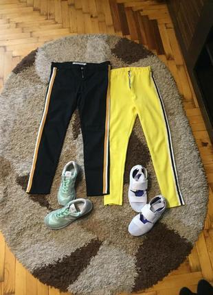Zara,missguided джинсы и лосины