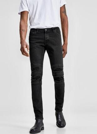 Крутые стильные джинсы jack&jones glenn dust slim fit jeans