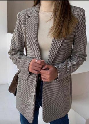 Женский легкий пиджак без подкладки