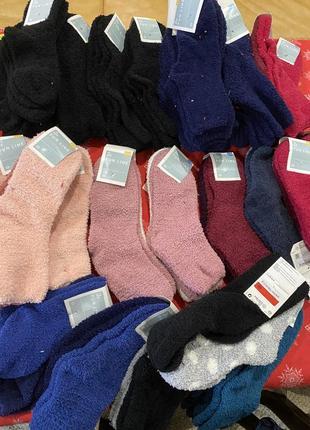 Теплые носки плюшевые