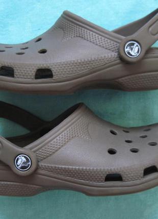 Crocs classic clog (w4-5, 35, 22 см) кроксы