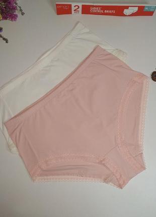 Комплект високих елегантних жіночих трусиків esmara lingerie