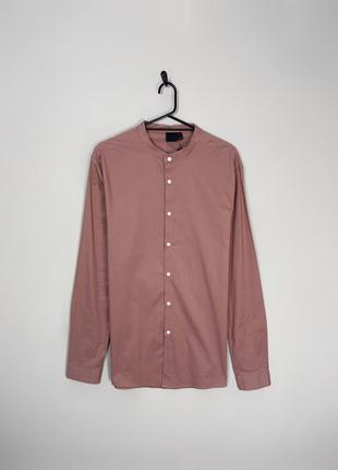 Asos чудова котонова сорочка в блідому кольорі, практична класична річ.