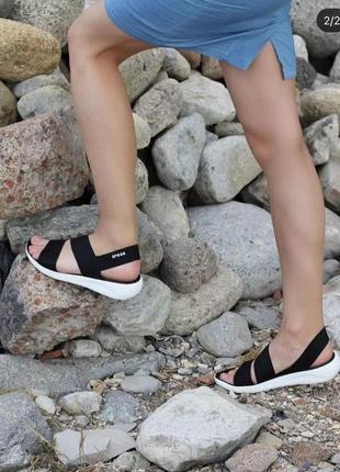 Оригинал, сандалии crocs literide   stretch   sandal, крокс, кроксы, босоножки, crocband