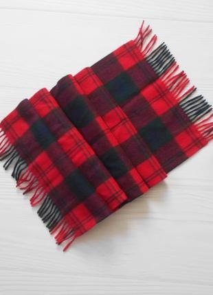 Шерстяной теплый шарф 🌺