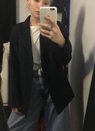 Пиджак оверсайз прямого кроя