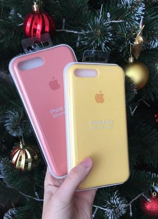 Чохол(чехол) silicone case на iphone 7/8+ (7/8 plus)