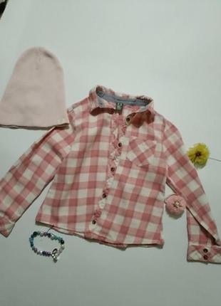 Рубашка zara 4-5 (110)