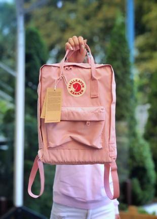💖fjallraven kanken pink🌺жіночій рюкзак 16л канкін