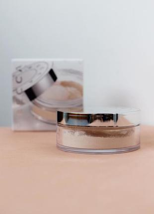 Рассыпчатая пудра becca - hydra-mist set & refresh powder (мини версия 5 g)