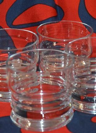 Набор из 4-х стаканов для виски.