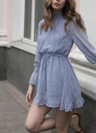 Легкое летнее платье размера s