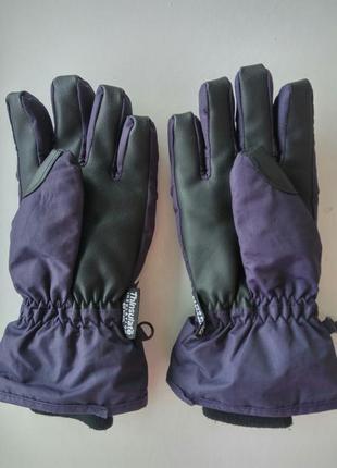 Детские термоперчатки с утеплителем thinsulate 40 gram рукавицы с манжетами унисекс