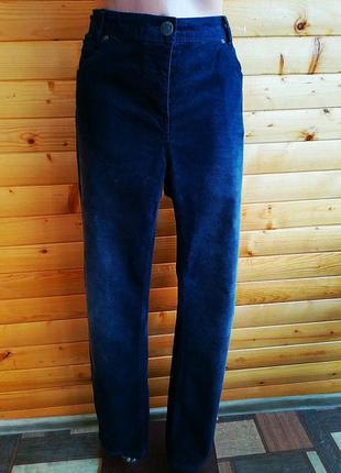 Трендовые практичные брюки из  вельвета немецкой компании сecil.