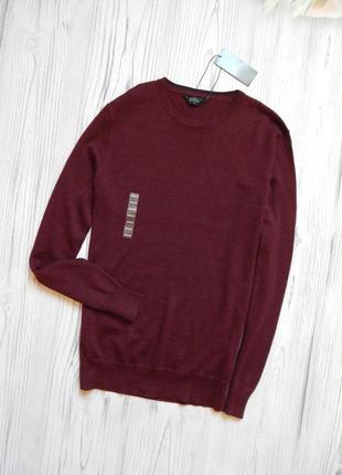 🌿обалденный мужской шерстяной пуловер. размер м🌿