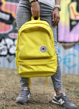 Converse all star backpack yellow 💛 16л, рюкзак конверс