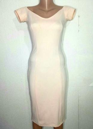 Платье миди по фигуре р м от  missguided