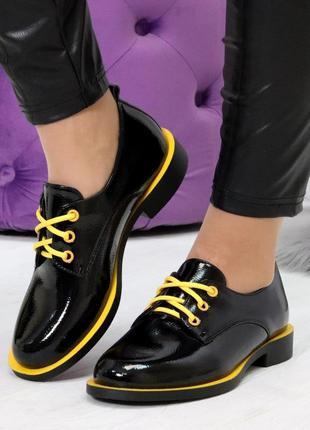 """Туфли """"fabulous"""" - экокожа/лак"""