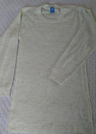 Термореглан шерсть акрил термо футболка лонгслив термобілизна термобелье поддева