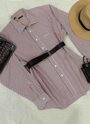 Рубашка с мужского плеча pierre cardin l-xl