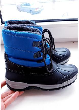 Зимние ботинки alive