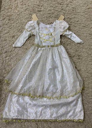 Платье ангел на 9-10лет