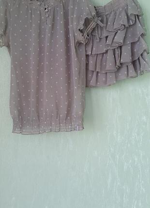 Костюм (юбка и блузка)