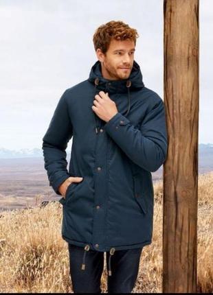 Мужская зимняя куртка парка livergy 52 германия