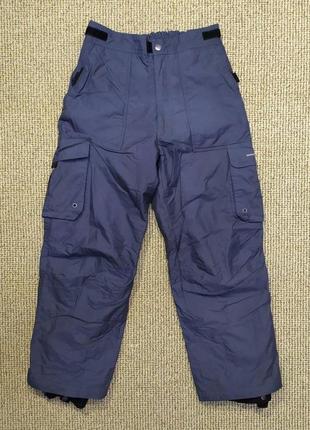 Детские лыжные штаны weather report р. 152